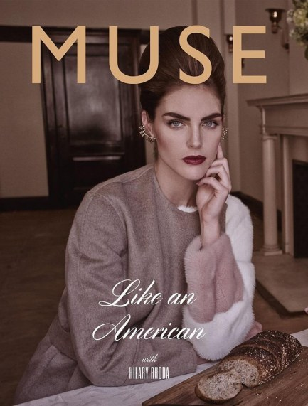 Muse No Fall Hilary Rhoda By Mariano Vivanco No Makeup