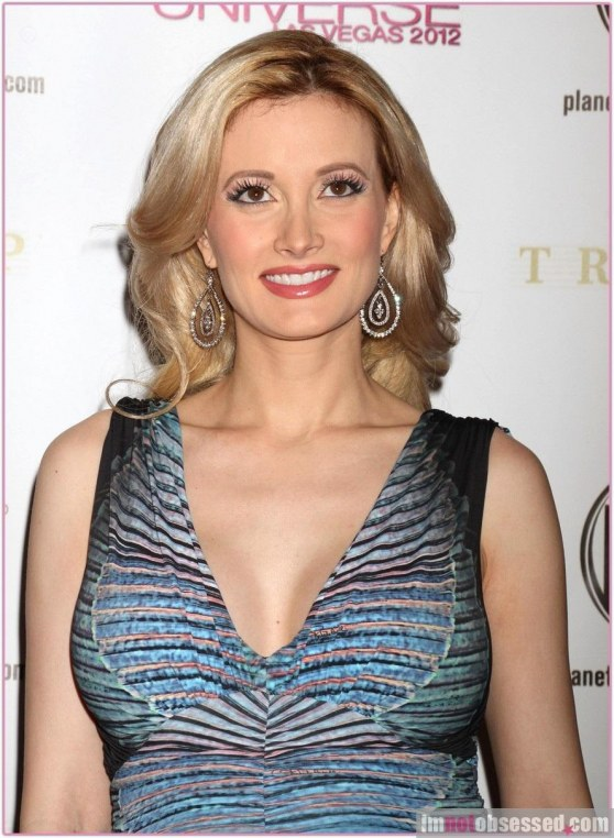 Holly Madison At Miss Universe Pageant