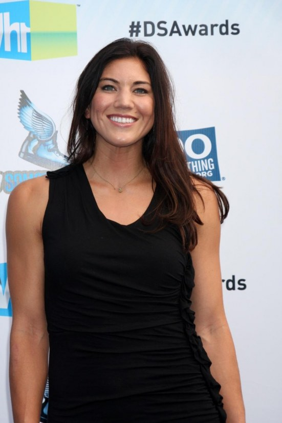Hope Solo Arrives At The Do Something Awards Hot