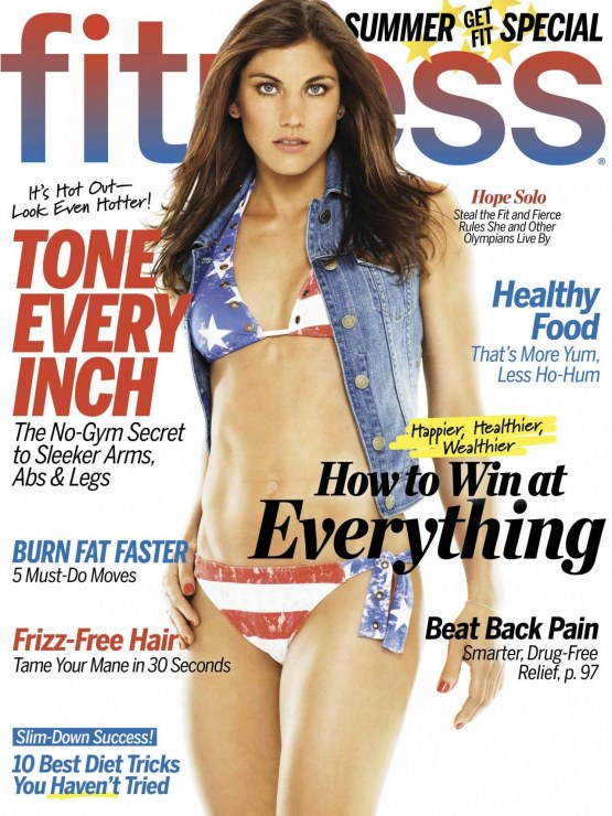 Hope Solo Various Outfits Fitness Magazine July Augist Andrew Macpherson Hopesolo Fitness Magazine July August Aandrewmacpherson Body Issue