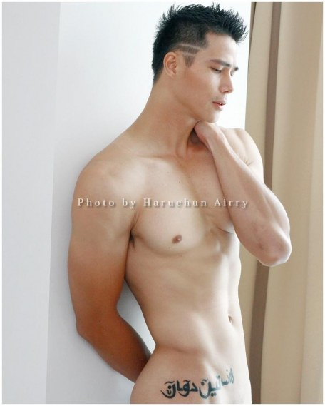 Picture Of Hot Asian Men Guy Ngo Tien Doan Newest Set From Haruehun Airry Photographer Hot Selfies