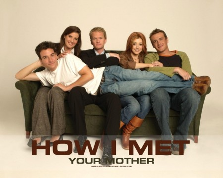 How Met Your Mother Couch How Met Your Mother  Poster