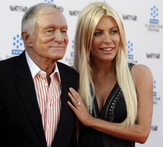 Hugh Hefner Crystal Harris