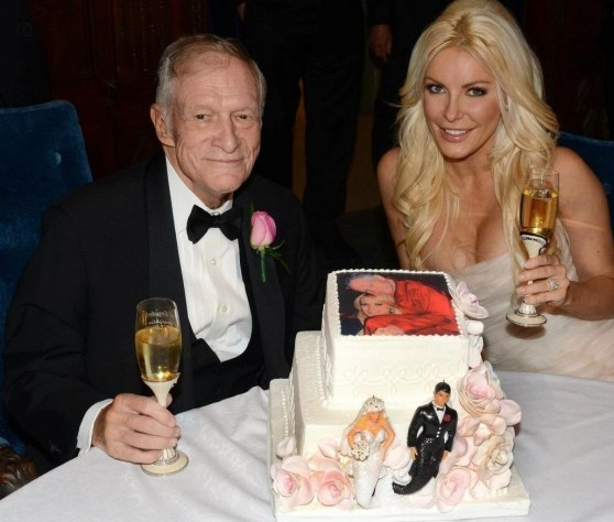 Hugh Hefner Crystal Harris Wedding Pictures Revealed Wedding