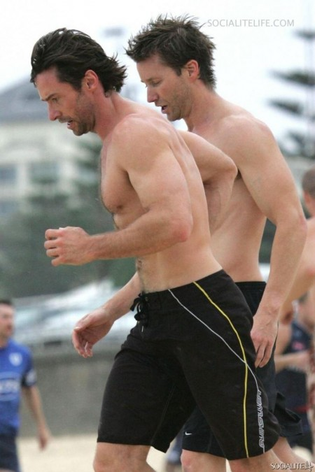 Hughjackman Shirtless Photos Body