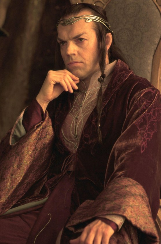 Hugo Weaving Lord Of The Rings Elrond