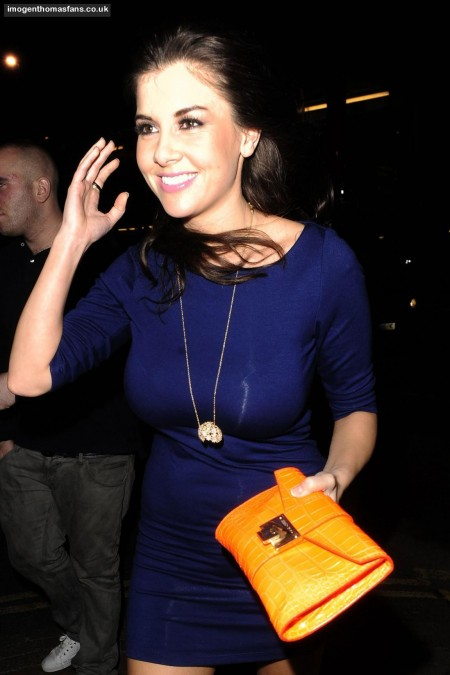 Imogen Thomas At Club In Holborn
