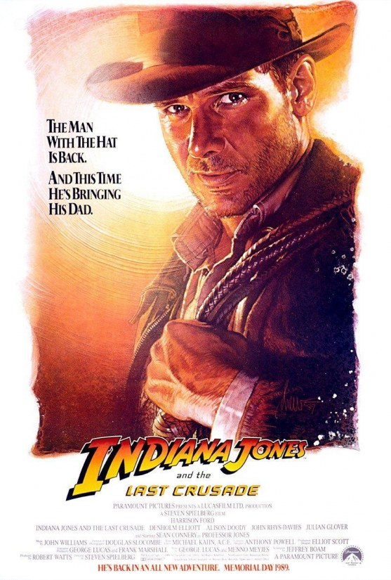 Indiana Jones And The Last Crusade Ver Xlg Film Poster