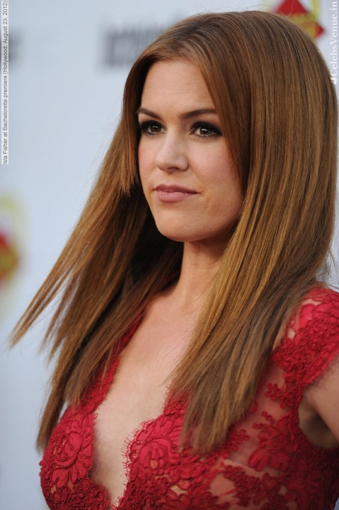 Isla Fisher At Bachelorette Premiere Hollywood August