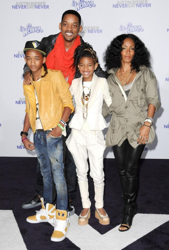Will Smith Jada Pinkett Smith Family