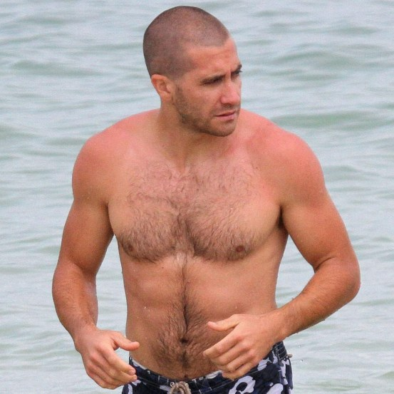 Actor Jake Gyllenhaal Body