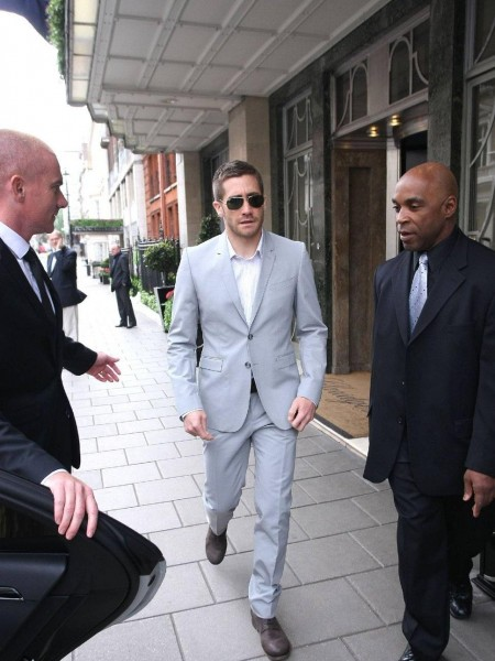 Jake Gyllenhaal Claridges Lond
