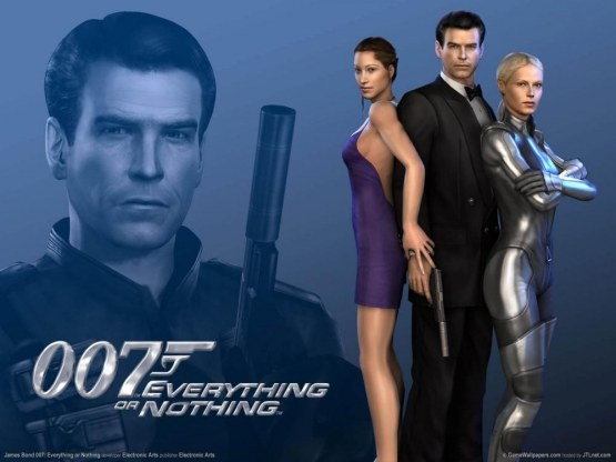 James Bond Everything Or Nothing Wallpaper Wallpaper