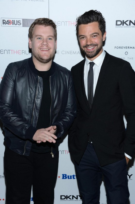 James Corden And Dominic Cooper At Event Of Butter Large Picture