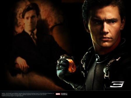 James Franco In Spider Man Wallpaper
