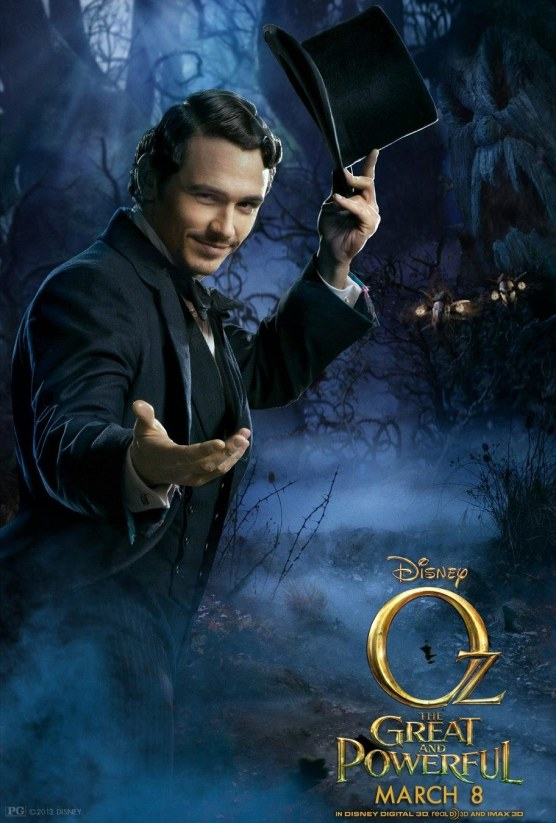 Oz The Great And Powerful Character Poster James Franco Oz