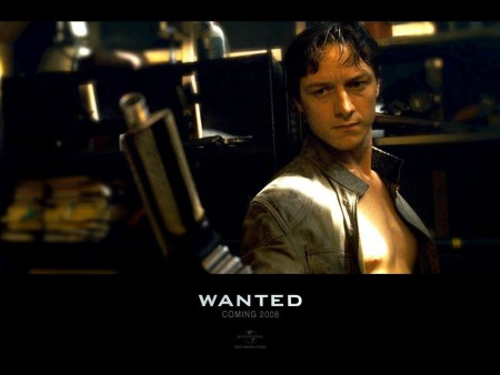 James Mcavoy In Wanted Wallpaper Wanted
