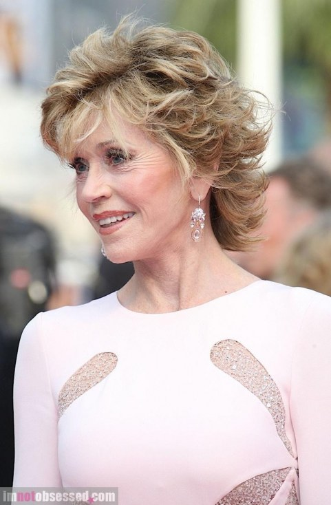Jane Fonda Cannes