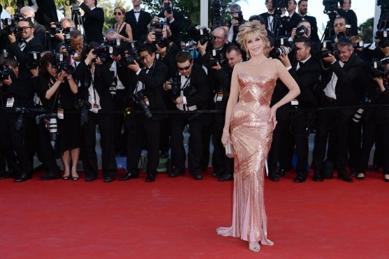 Jane Fonda Cannes Red Carpet