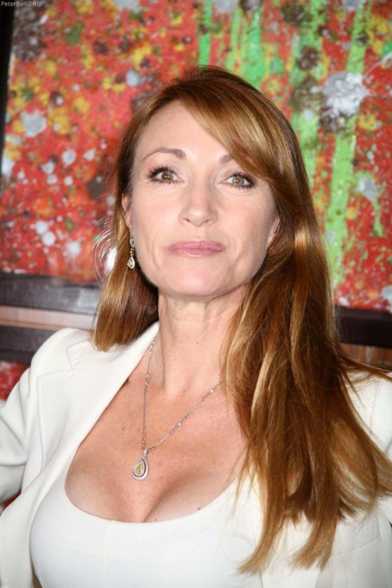 Jane Seymour Celebrates Delta Ailrines Newest Route White Business Suit Young