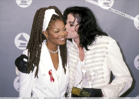 Michael And Janet Janet Jackson And Michael Jackson