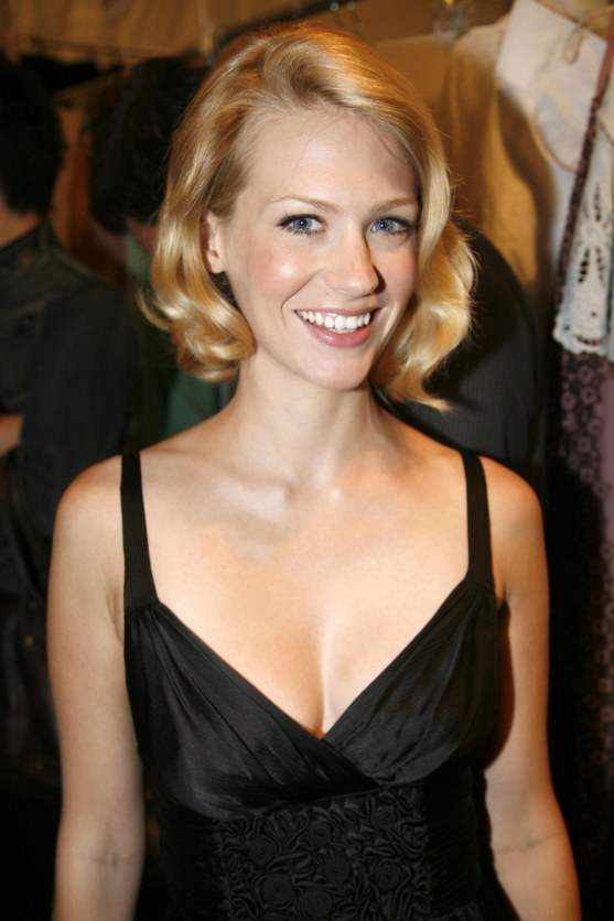 January Jones At Max Azria Fashion Show Mad Men
