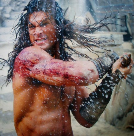 Jason Momoa In Conan The Barbarian Conan