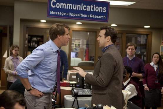 Picture Of Will Ferrell And Jason Sudeikis In The Campaign Large Picture The Campaign