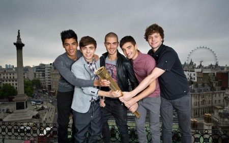 The Wanted Join Coca Cola London Olympic Torch Relay Nomination Campaign