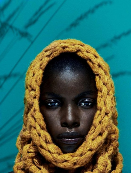 Jeneil Williams By Julia Noni For Vogue Germany September Wallpaper