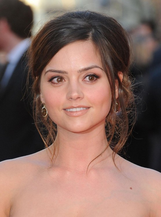 Jenna Louise Coleman At Titanic Premiere In London Wallpaper