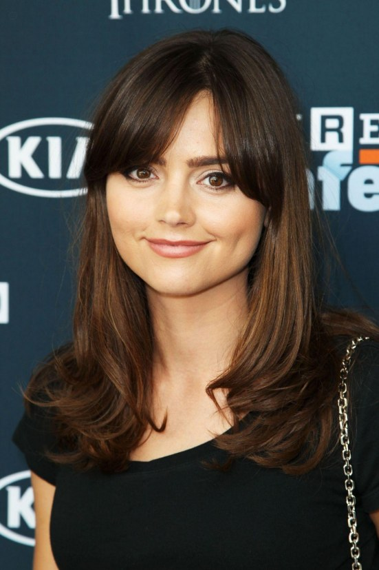 Jenna Louise Coleman At Wired Cafe At Comic Con In San Diego
