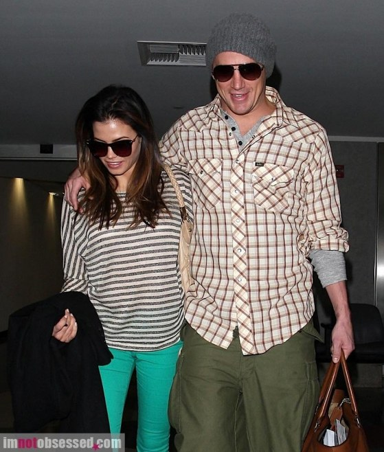 Channing Tatum And Jenna Dewan Tatum Arrive At Lax Jenna Dewan Tatum