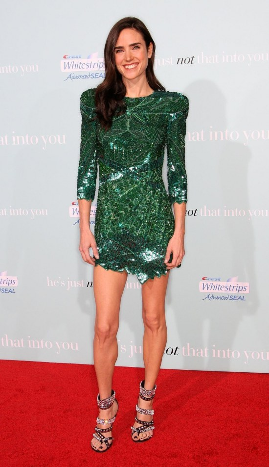 Jennifer Connelly Hes Just Not Into You Premiere Green Dress Jennifer Connelly Hes Just Not Into You Premiere He Just Not That Into You
