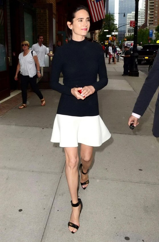 Jennifer Connelly Out And About In New York