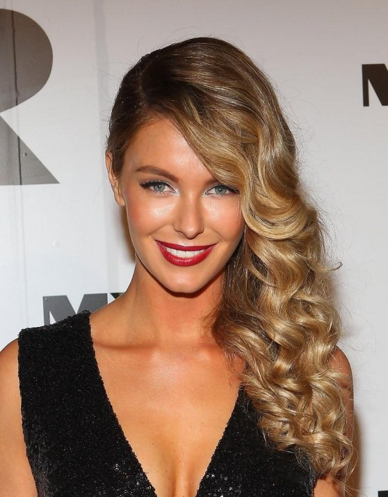 Jennifer Hawkins Long Hairstyles Retro Hairstyle Jwim Mymugx Body