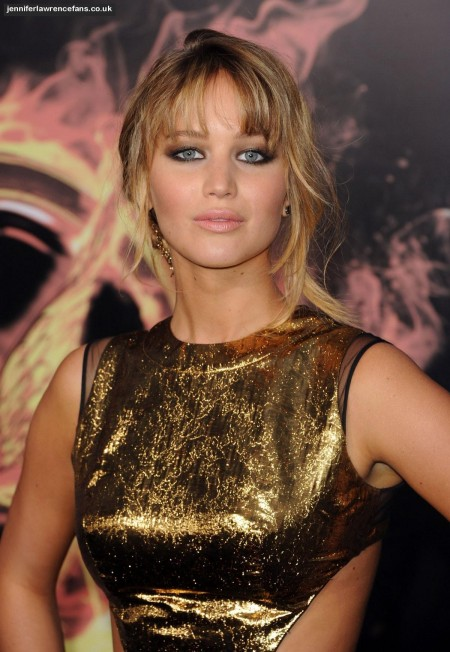 Jennifer Lawrence At The Hunger Games Premiere In Los Angeles The Hunger Games