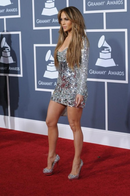 Jennifer Lopez Arrives At Rd Grammy Awards Los Angeles Awards
