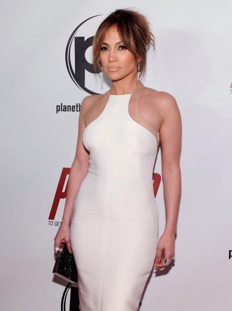 Jennifer Lopez At Parker Premiere In Las Vegas Parker