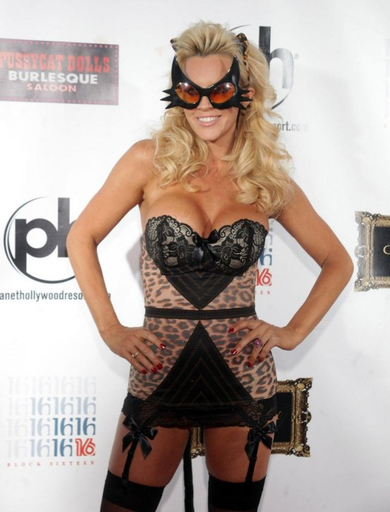 Jenny Mccarthy At Halloween Birthday Party At Planet Hollywood In Las Vegas Halloween