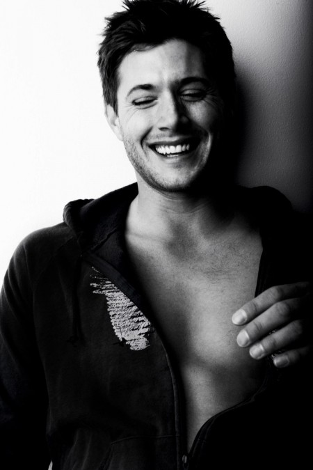 Actor Black Amp White Hot Jensen Jensen Ackles Male Favim Com Hot
