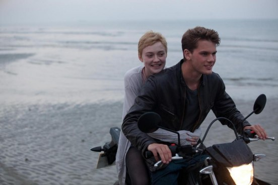 Still Of Dakota Fanning And Jeremy Irvine In Now Is Good Large Picture Now Is Good