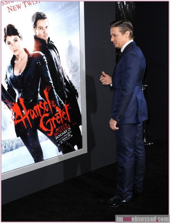 Jeremy Renner Hansel Gretel Witch Hunters Premiere Hansel And Gretel