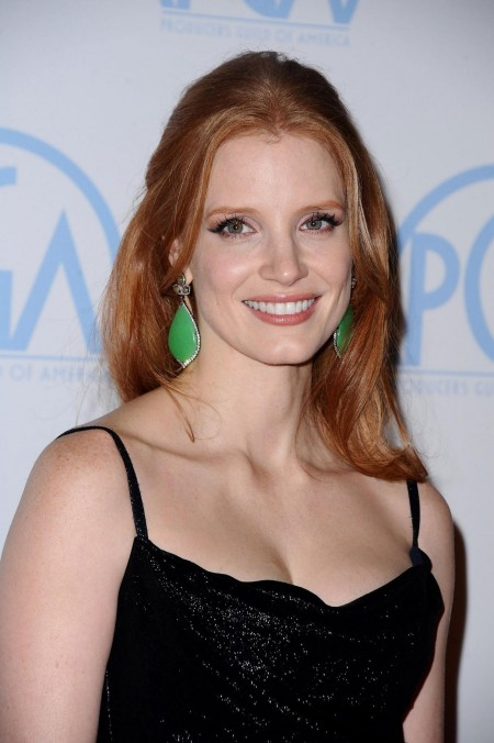 Jessica Chastain At Rd Annual Producers Guild Awards In Beverly Hills