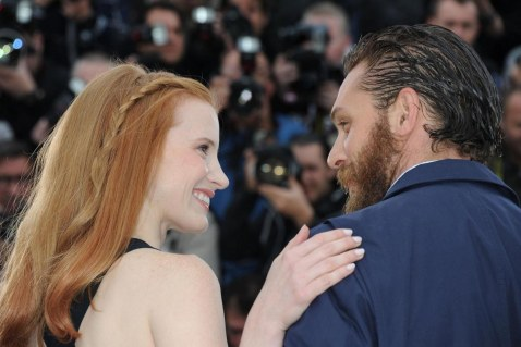Tom Hardy And Jessica Chastain At Event Of Lawless Lawless
