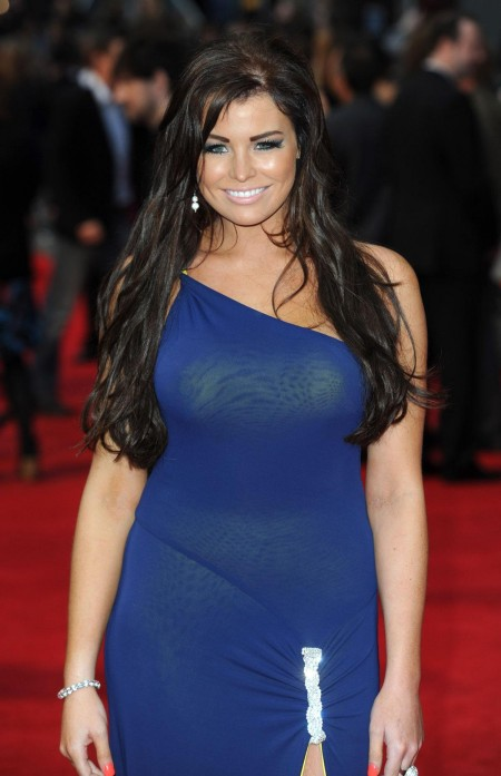 Jessica Wright At World Premiere Of The Dictator In London