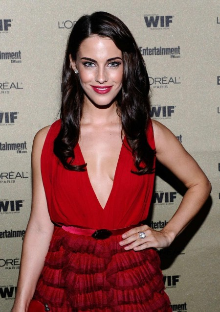 Jessica Lowndes Looks Beautiful In Red Dress Dresses