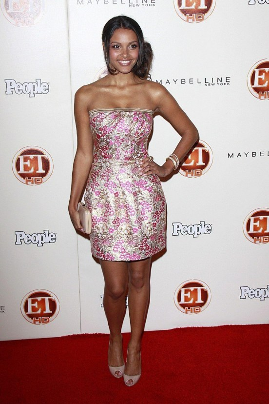 Entertainment Tonight Emmy Party Jessica Lucas Friends With Benefits