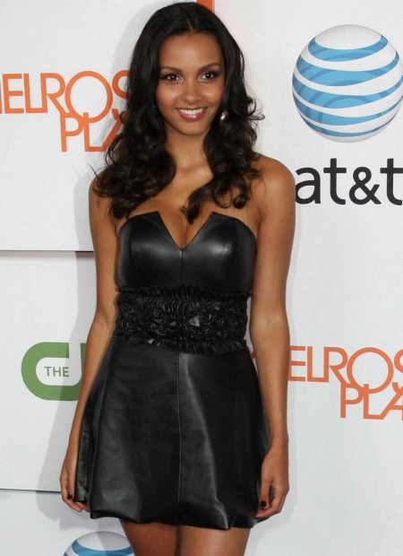 Melrose Place Premiere Party Jessica Lucas