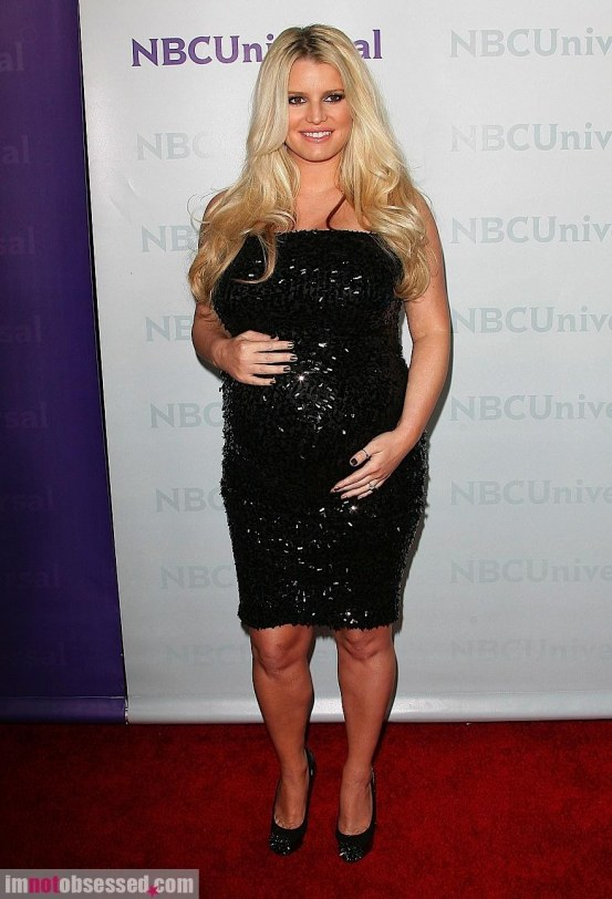Jessica Simpson Loving The Moment Before Giving Birth